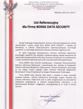 Referencje KSOIN dla BOSSG Data Security
